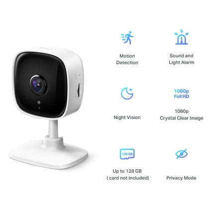 TP-Link WiFi Camera Tapo C100 - 1080P Full HD IP Camera / Home Security Wi-Fi Camera