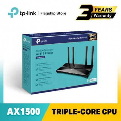 TP-Link Archer AX10 - AX1500 Triple-Core CPU Powered WiFi 6 Wireless AX Router